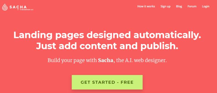 วิธีสร้างเว็บไซด์ง่ายๆ กับ Sacha AI Web Designer โดย Firedrop