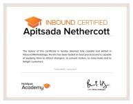 Inbound Certificate