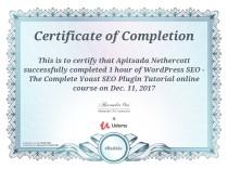 Yoast Certification